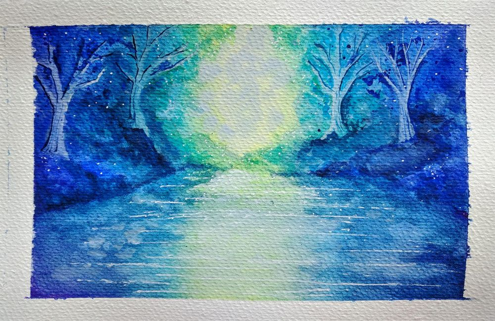 My Fantasy Forest River - image 1 - student project