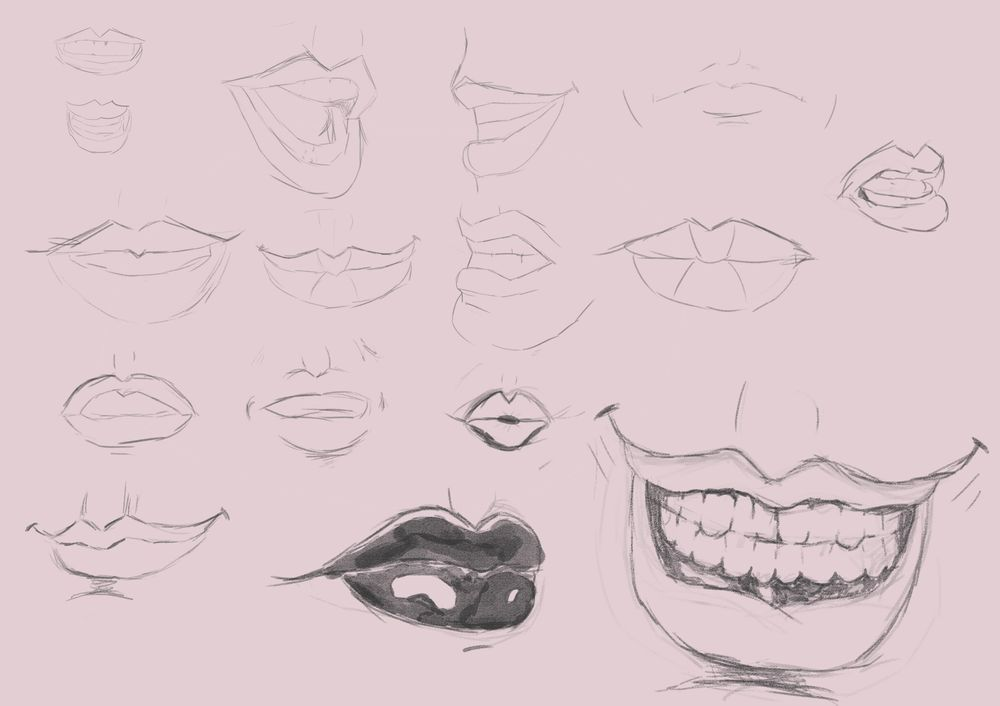 Studying the Mouth - image 2 - student project
