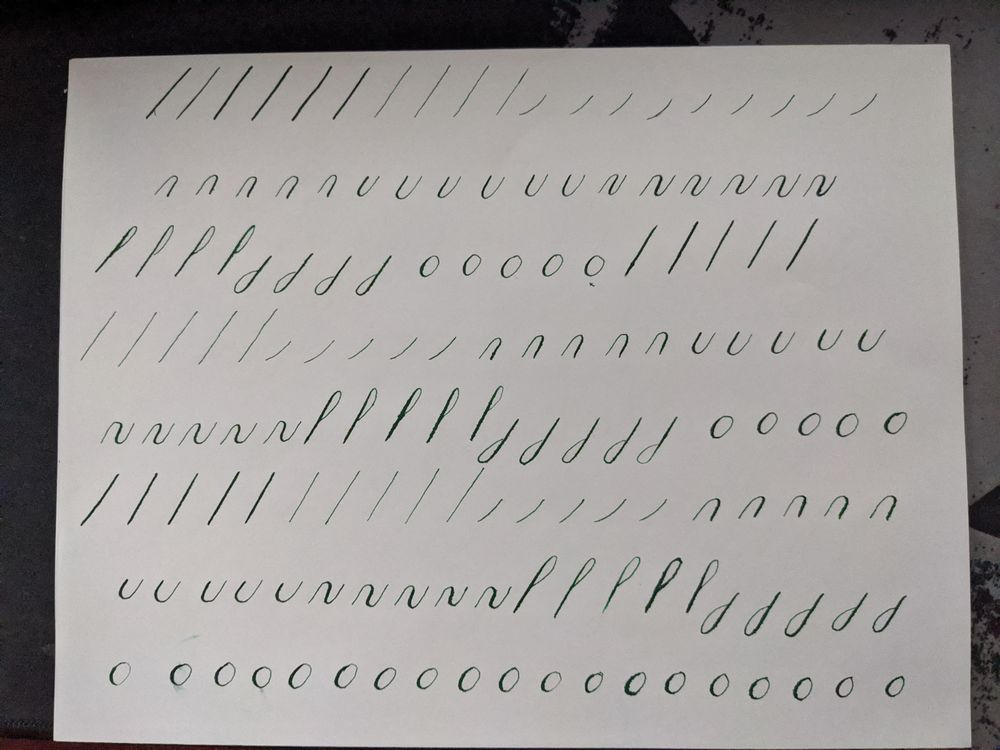 Copperplate Practice & Feedback - image 8 - student project
