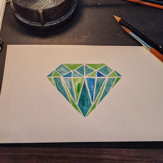 Some Diamonds and Analogous Colors - image 4 - student project