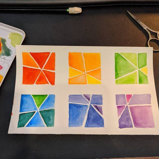 Some Diamonds and Analogous Colors - image 1 - student project