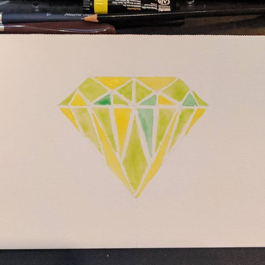 Some Diamonds and Analogous Colors - image 3 - student project
