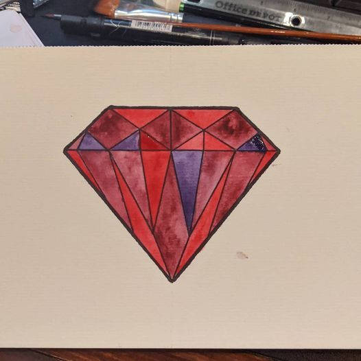 Some Diamonds and Analogous Colors - image 2 - student project