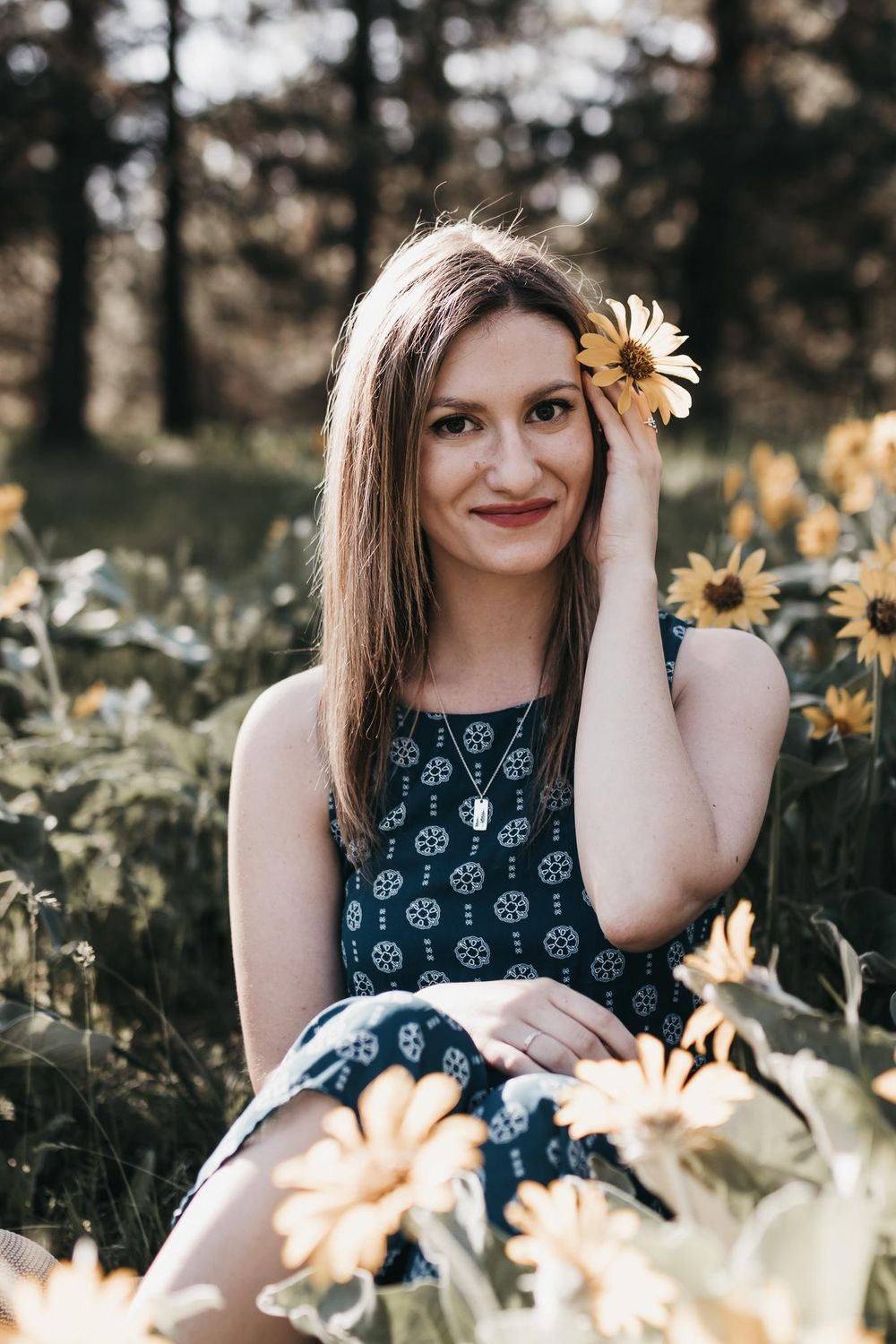 Spring Portraits - image 1 - student project