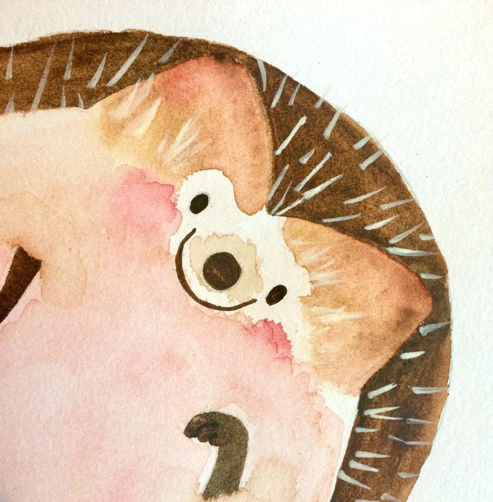 Little Hedgehog - image 1 - student project