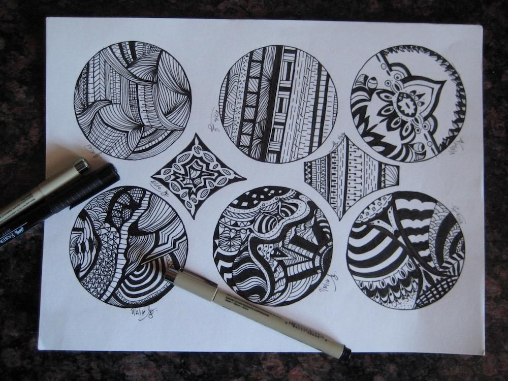 Eight Days of Doodles - image 1 - student project