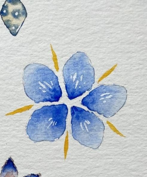 Watercolor Flowers - so much fun and cool effects! - image 2 - student project