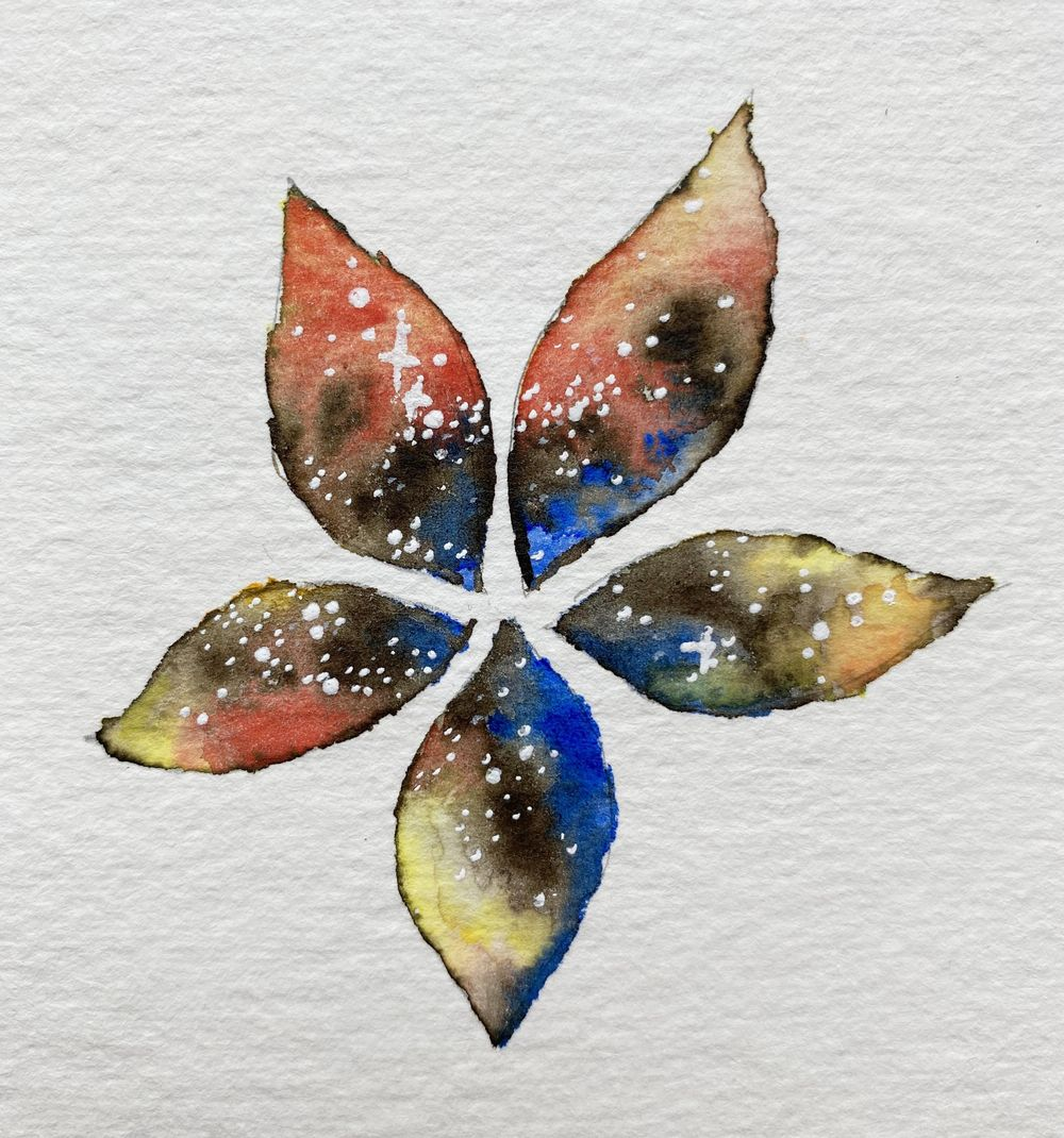 Watercolor Flowers - so much fun and cool effects! - image 3 - student project