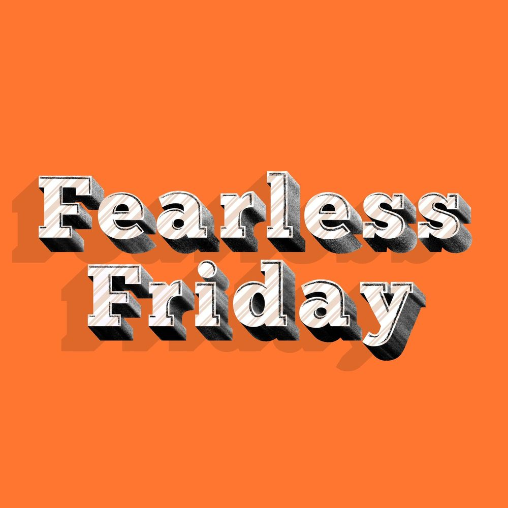 Fearless Friday - image 2 - student project