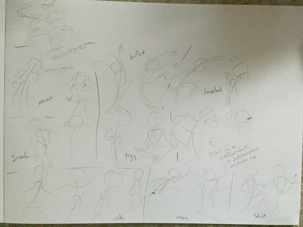 Bonus Round- Artistic Stick Figures! - image 1 - student project