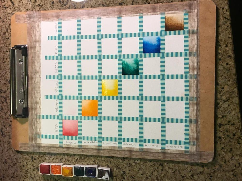 Earth tones color palette - image 2 - student project