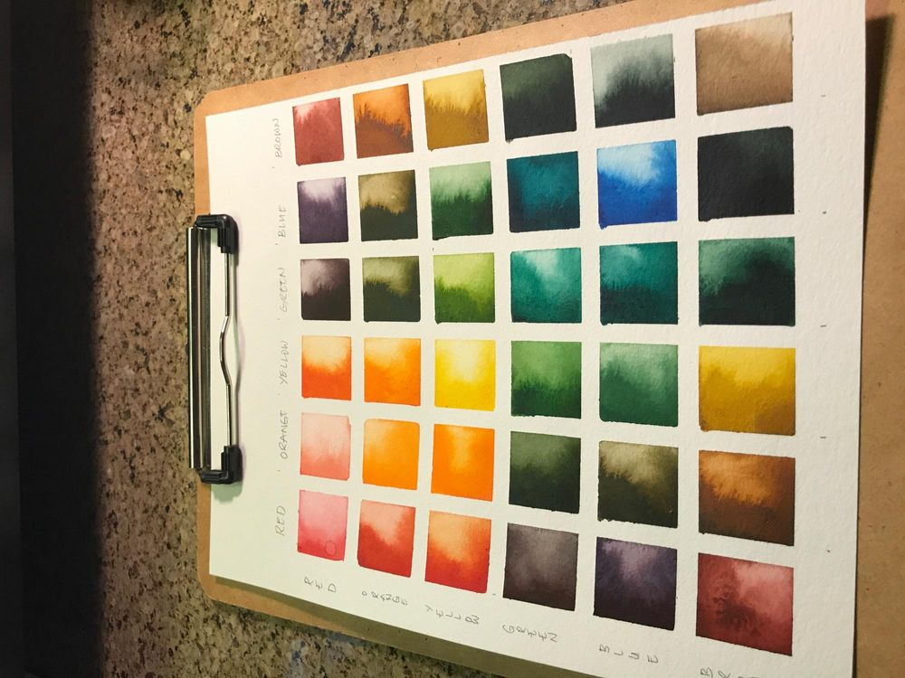 Earth tones color palette - image 3 - student project