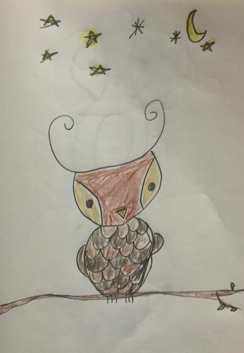 By Urielle (9yrs old) - image 2 - student project