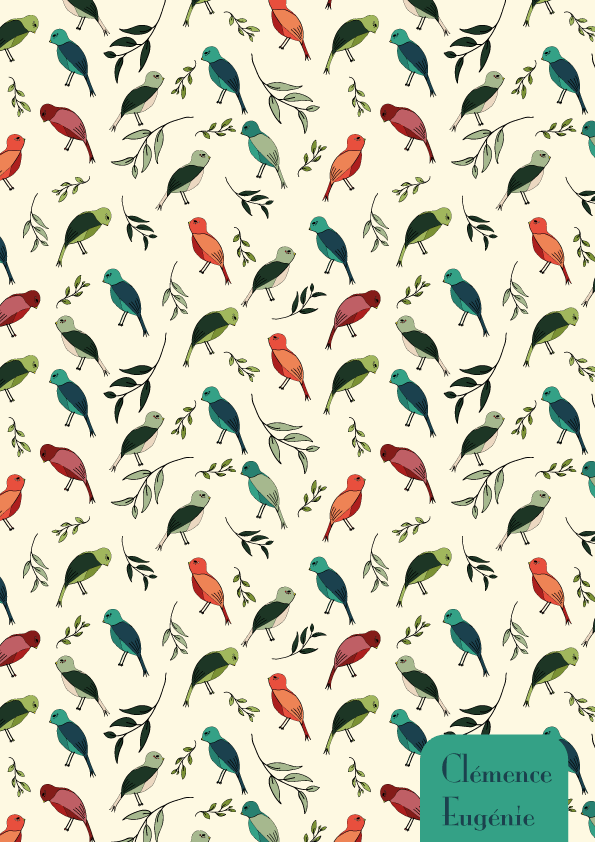 Colorful birds - image 1 - student project