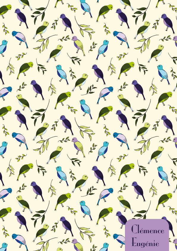 Colorful birds - image 3 - student project