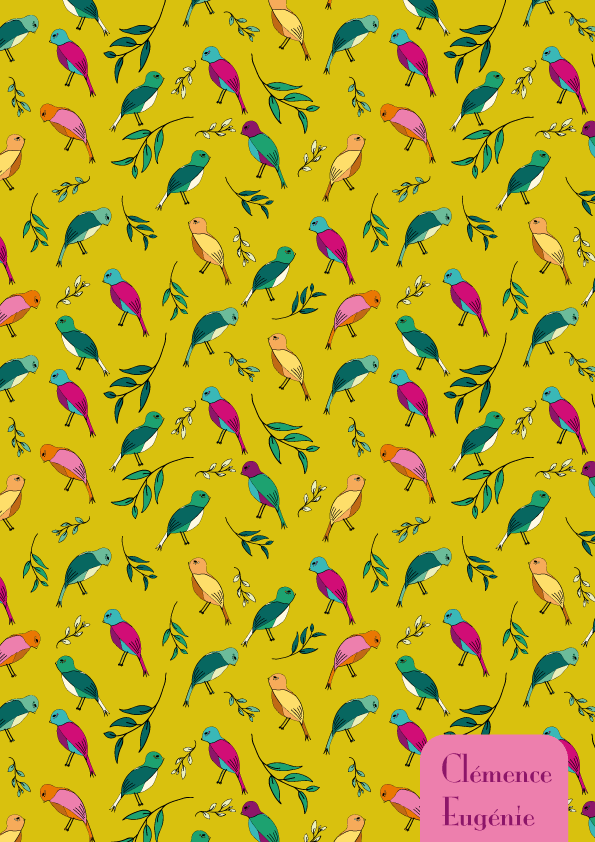 Colorful birds - image 5 - student project