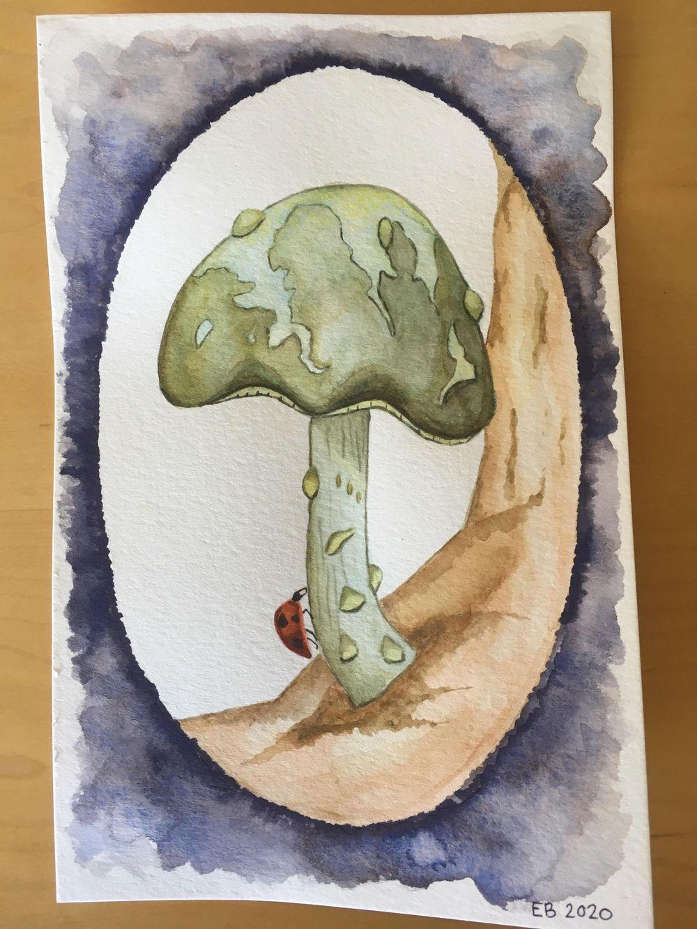 Eleanor's mushroom - image 1 - student project