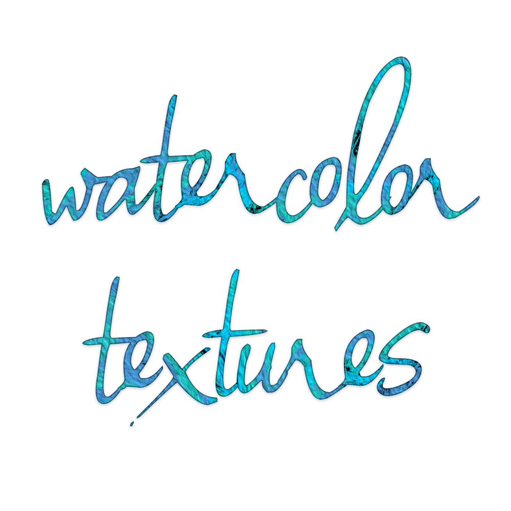Watercolor Textures Logo Idea - image 1 - student project