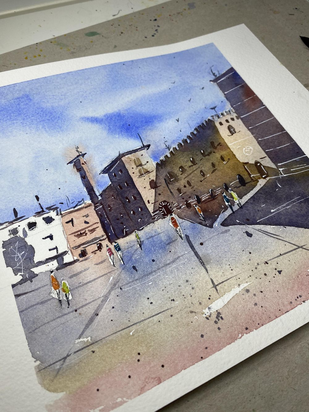 An Old Italian Town - image 1 - student project