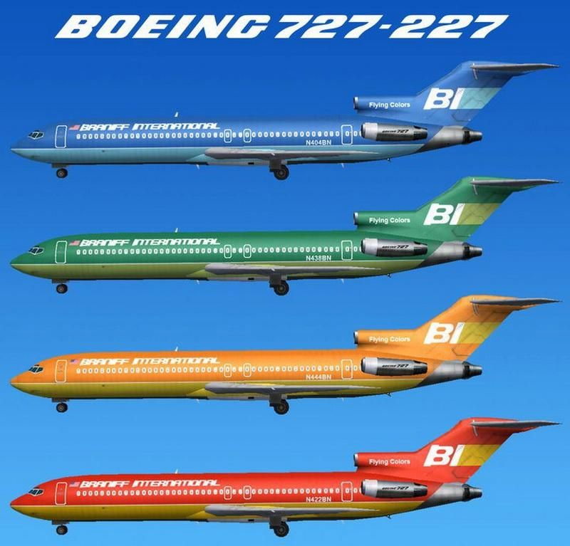 Retro Poster:  Braniff Airlines - image 1 - student project
