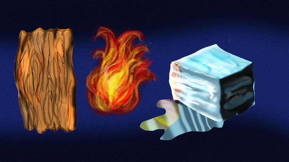 Wood, Fire, and Ice - image 1 - student project