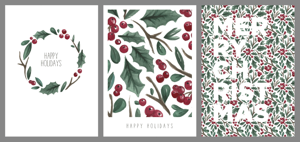 Christmas Cards - image 4 - student project