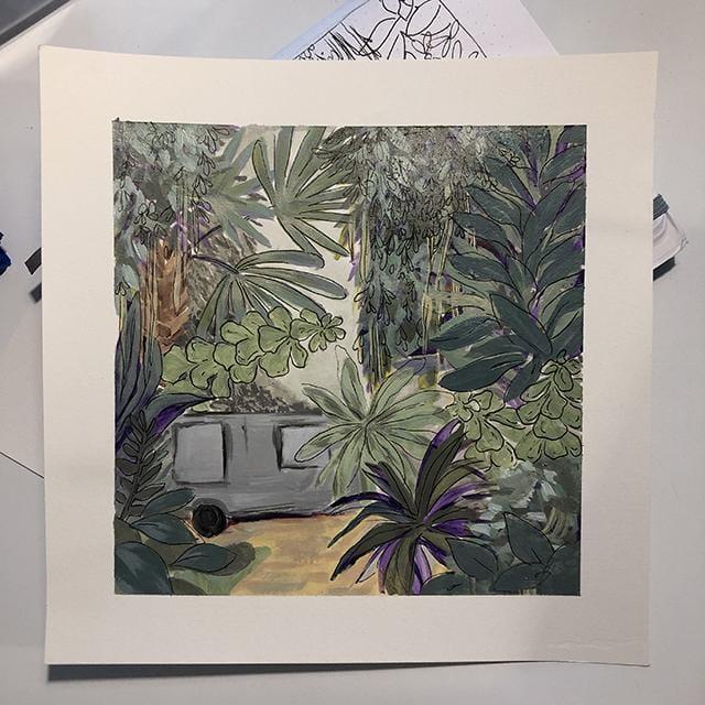 Botanical Scene - image 2 - student project