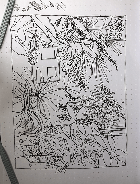 Botanical Scene - image 1 - student project