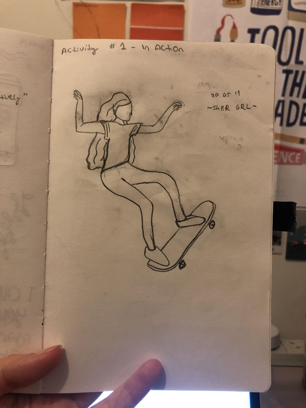 Odd Bodies Sketches - image 1 - student project