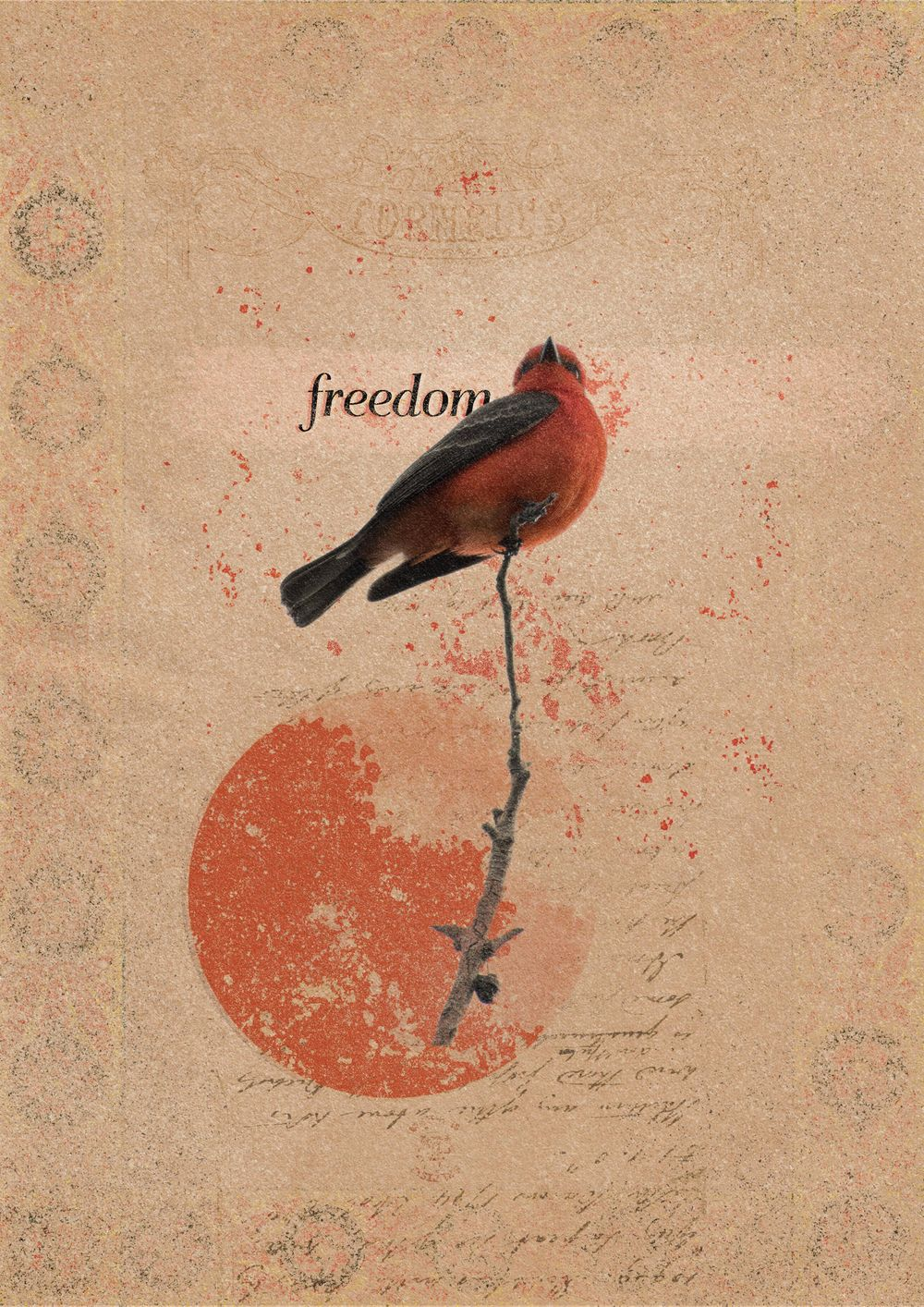 Retro Collage - Freedom - image 1 - student project