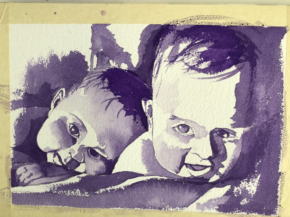 Twin Babies - image 1 - student project