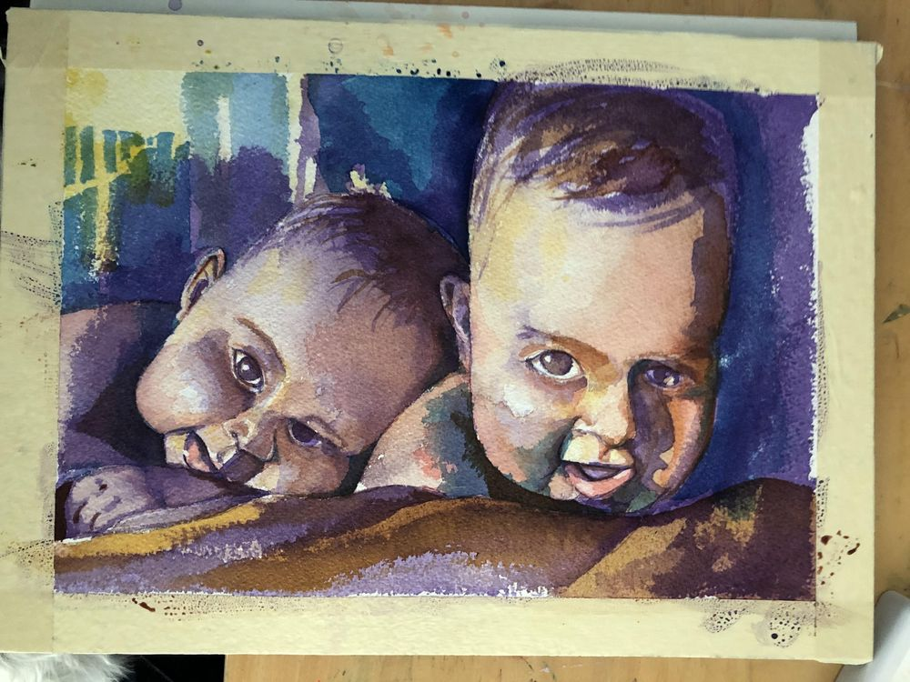 Twin Babies - image 3 - student project