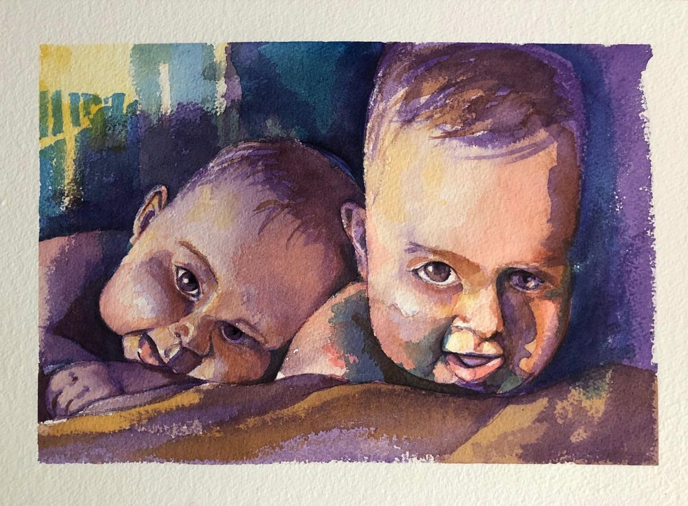 Twin Babies - image 4 - student project