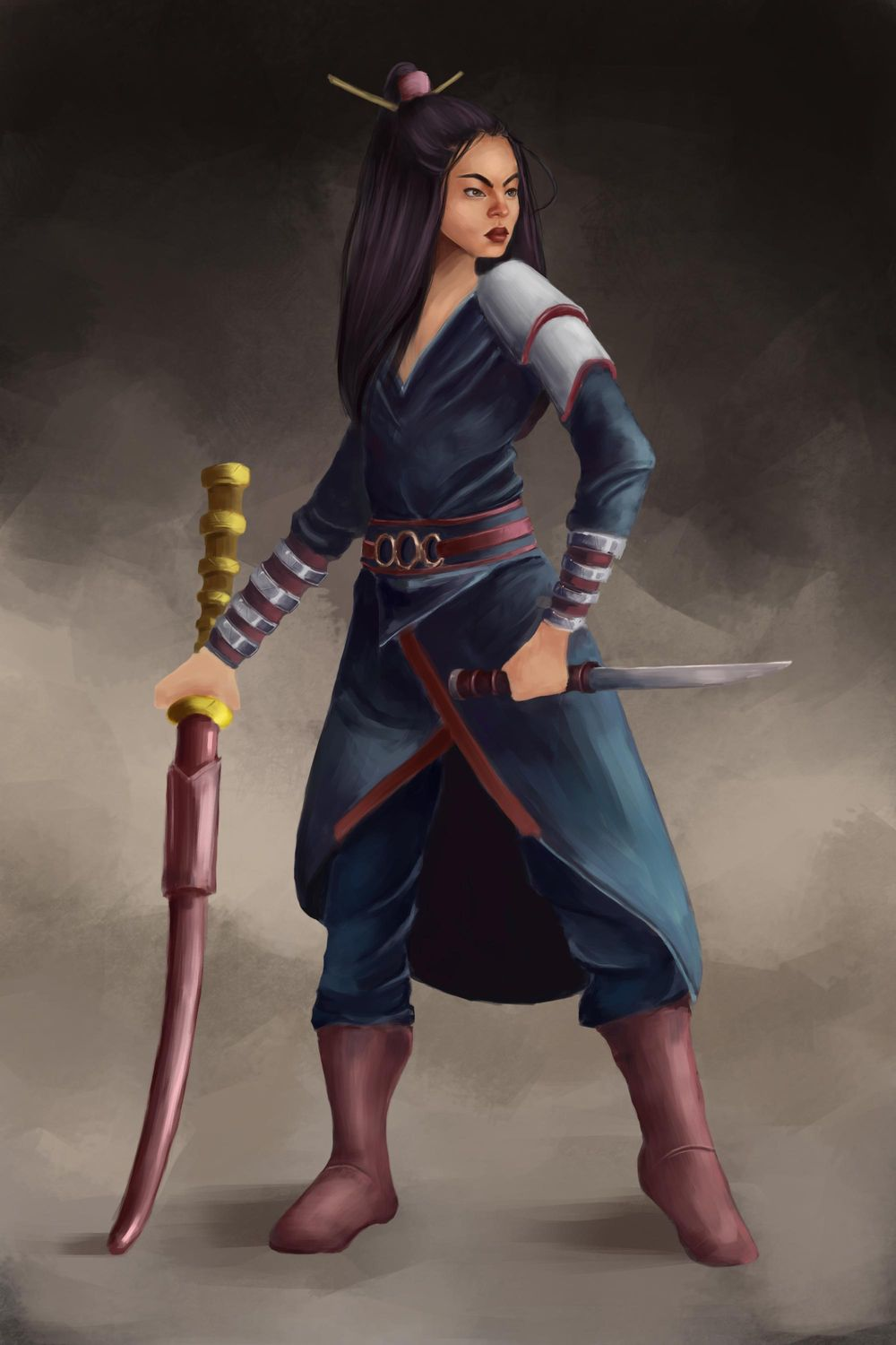 warrior - image 1 - student project