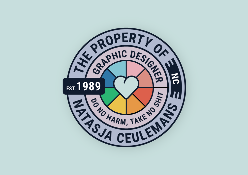Personal sticker - image 2 - student project