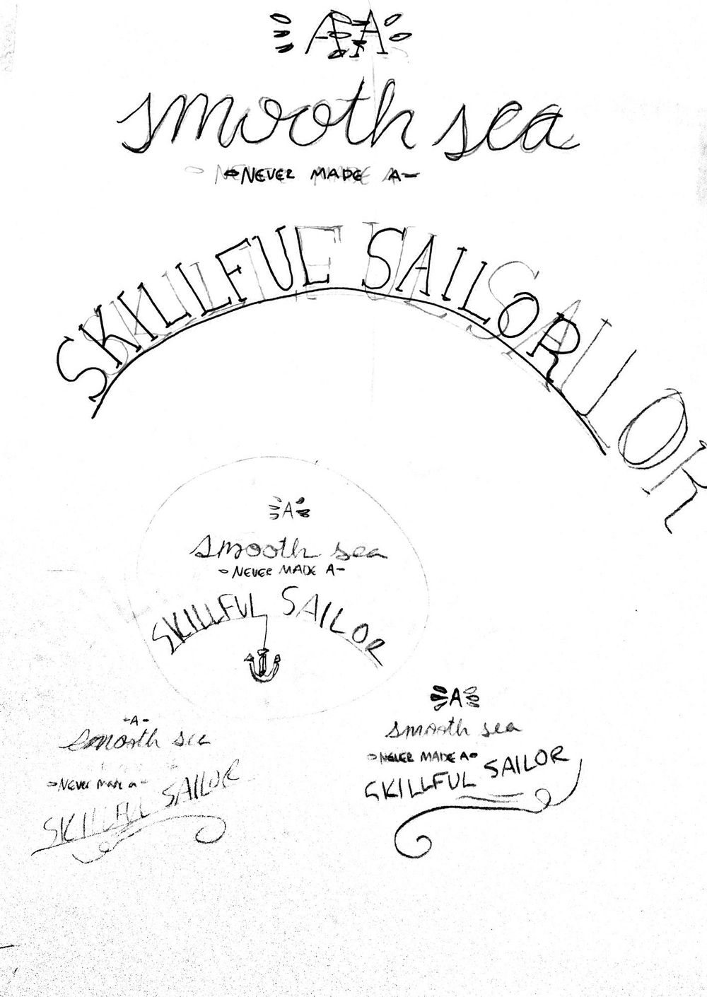 A Smooth Sea Never Made A Skillful Sailor - image 2 - student project