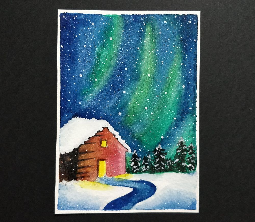 My attempt at snowy landscapes - image 1 - student project