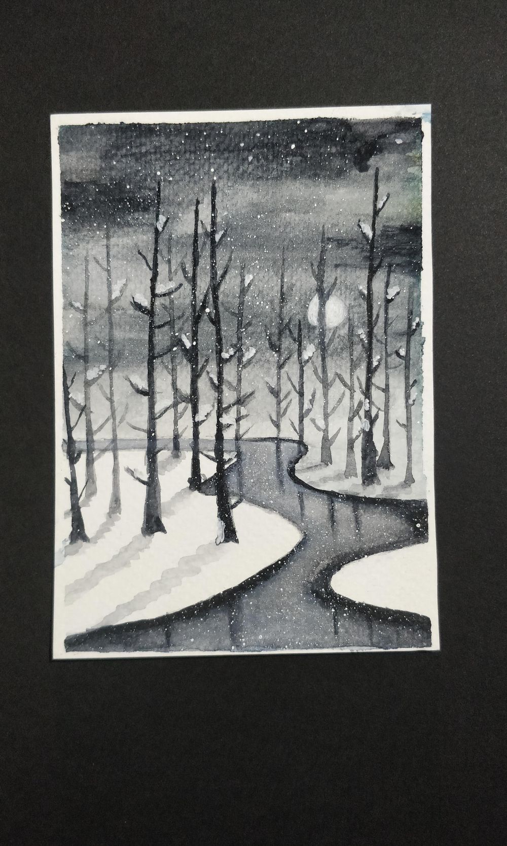 My attempt at snowy landscapes - image 2 - student project