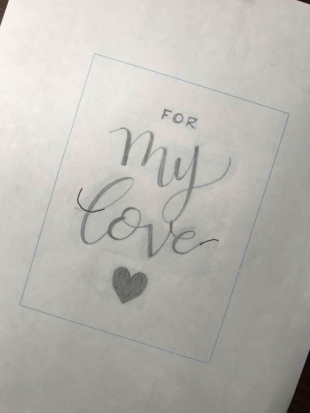 For My Love - image 10 - student project