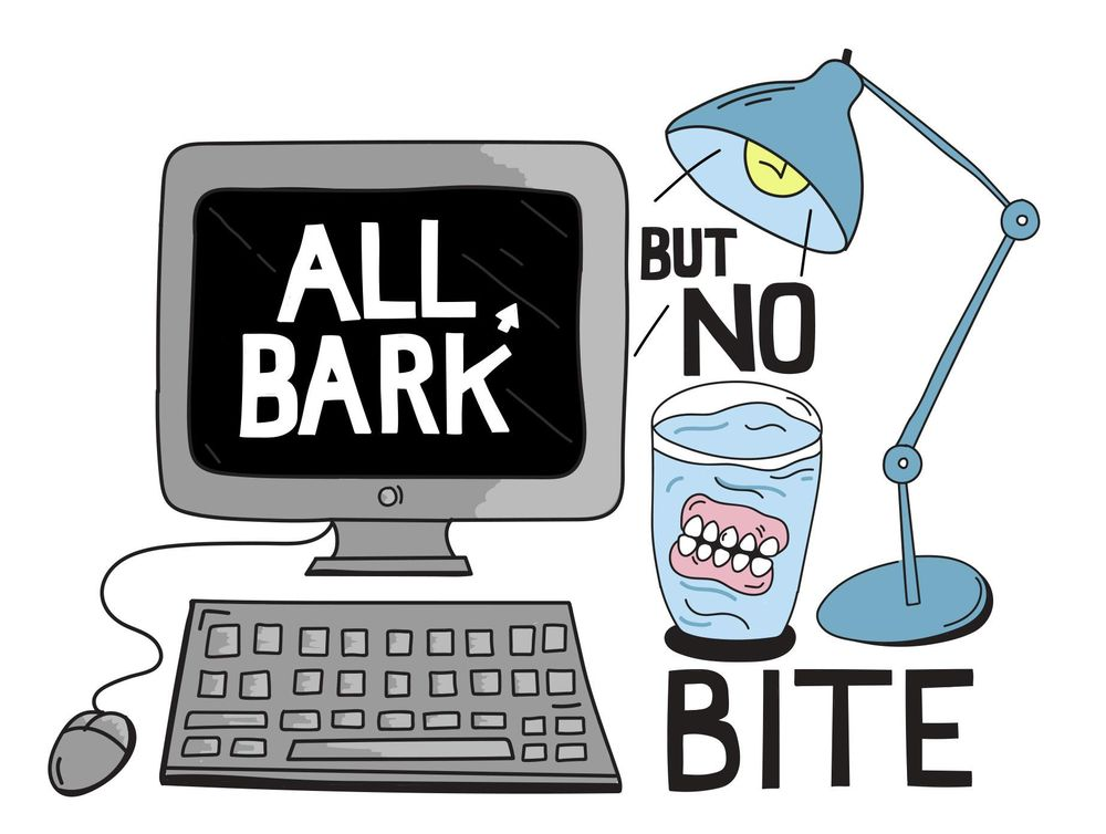 All bark but no bite - image 1 - student project