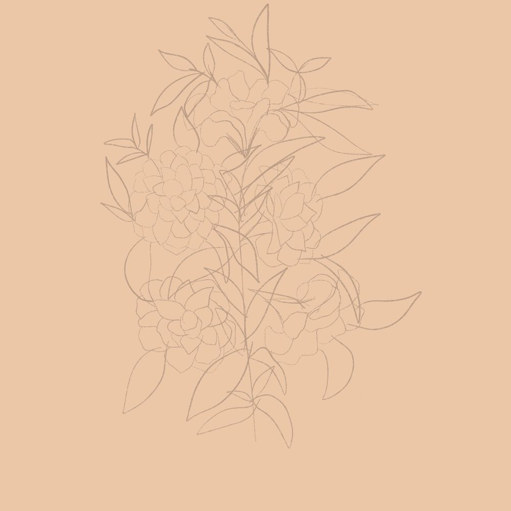 Wild flowers in Procreate - image 3 - student project