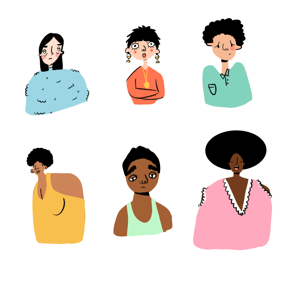 colourful people - image 2 - student project