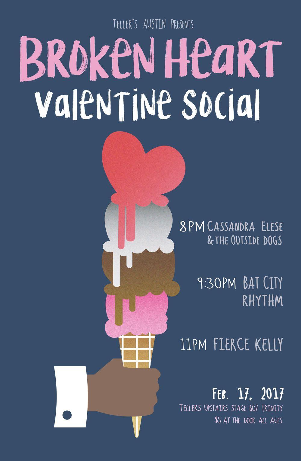 Broken Heart Valentine Social  - image 1 - student project