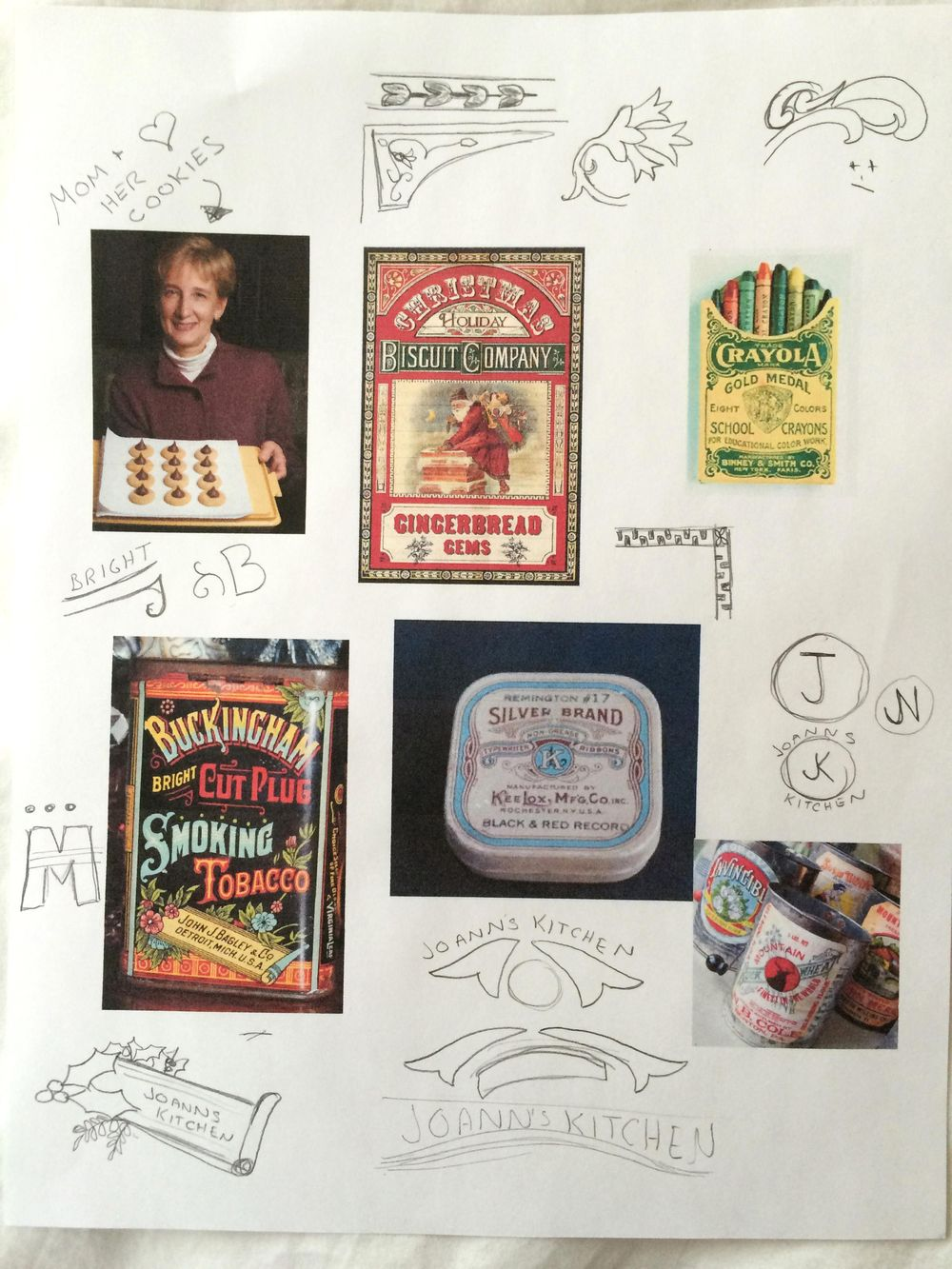 Holiday Cookies Packaging - image 2 - student project