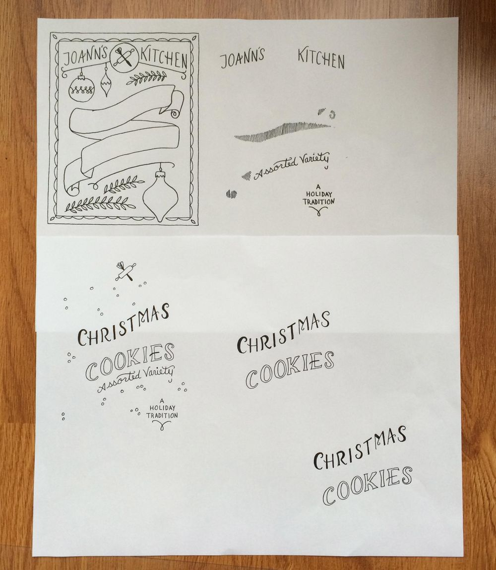 Holiday Cookies Packaging - image 10 - student project