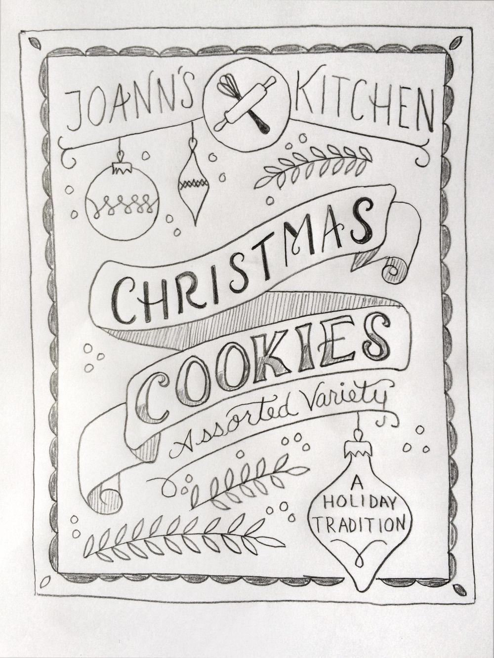 Holiday Cookies Packaging - image 9 - student project
