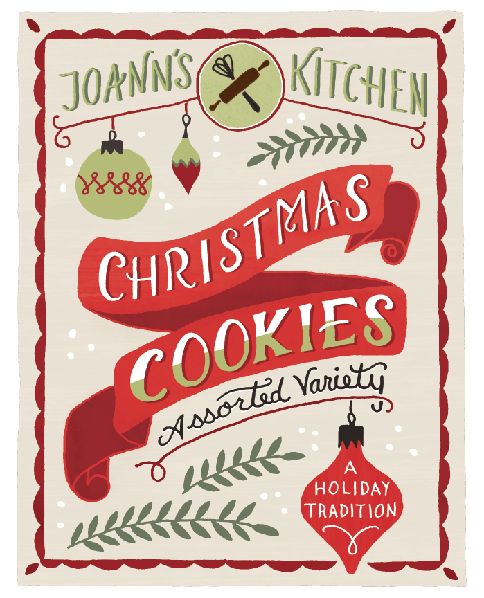 Holiday Cookies Packaging - image 12 - student project
