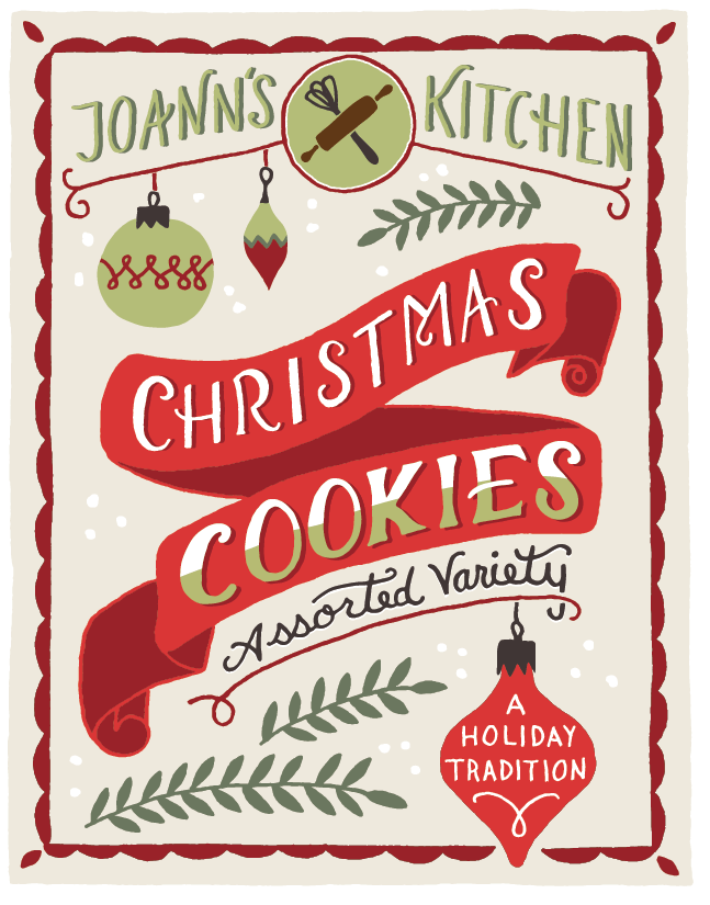 Holiday Cookies Packaging - image 11 - student project