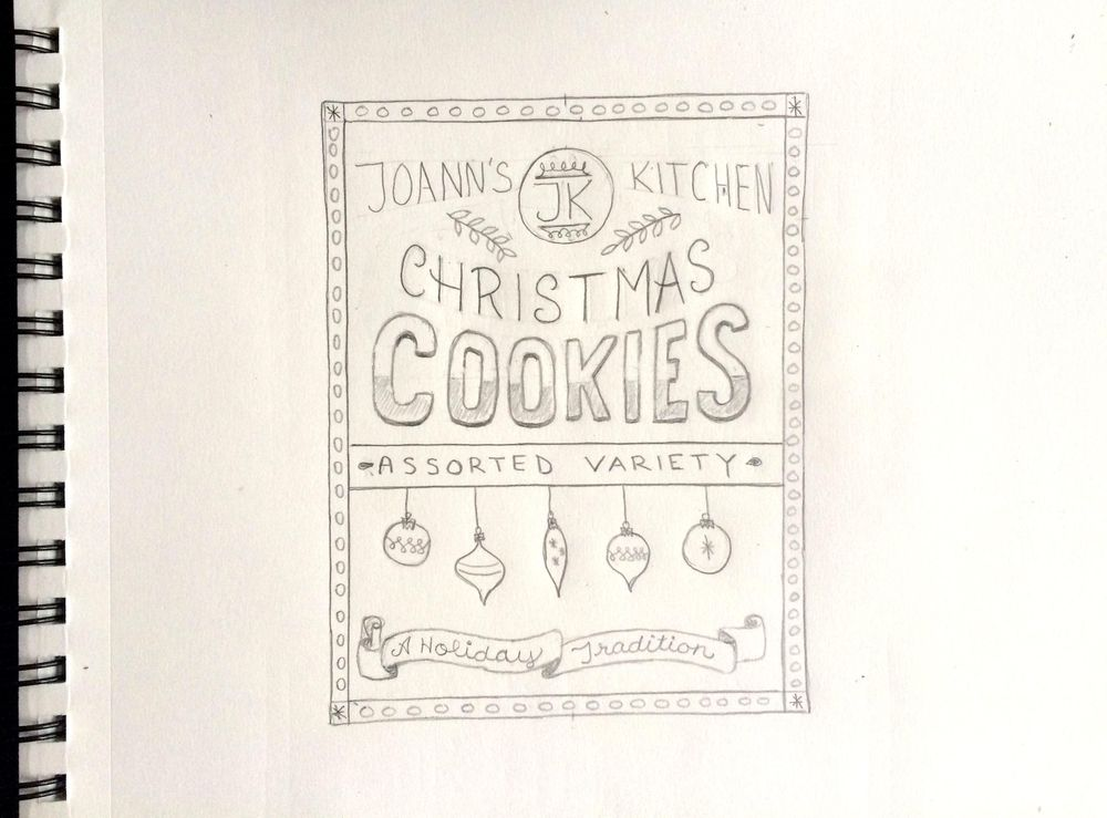 Holiday Cookies Packaging - image 8 - student project