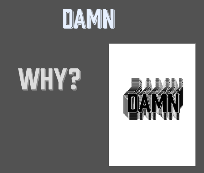 DAMN - image 1 - student project